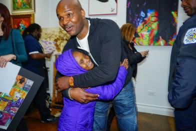 Corry Williams founded 345 Art Gallery in order to cultivate a homegrown artistic community on the West Side. | Photo courtesy 345 Art Gallery. | Photo courtesy 345 Art Gallery
