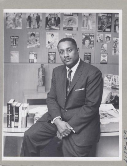 leader John H. Johnson. | Courtesy Nara Johnson