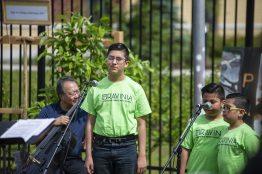 Children from Ravinia's Lawndale Family Music School perform. | ALEXA ROGALS/Staff Photographer
