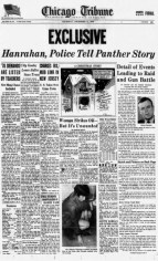 PROPAGANDA: Cook County State's Attorney Edward V. Hanrahan were able to control the narrative about the raid from the outset. | Newspapers.com