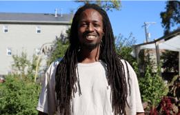 Sherman Lofton, 43, a North Lawndale resident, a member of Gardeneers. | F. Amanda Tugade/City Bureau