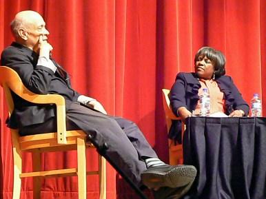 Walter Mosley at Harold Washington Library on Jan. 17.Photos by LA RISA LYNCH/Contributor