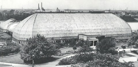 The conservatory in 1908.