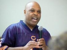 Dwayne Truss speaking on education