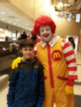 Even Ronald McDonald was there!