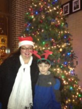 Austin Weekly News' Sales Representative Dawn Ferencak with her son Paxton