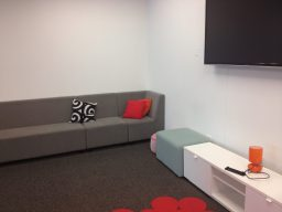 Comfortable, modern spaces for the children to enjoy during after-school programs.
