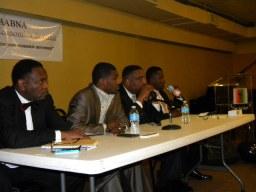 Pastor Acree, Pastor Kevin Cunningham, Pastor Steve Eptein, Pastor Rickey Sanders. (Photo courtesy of Malcolm Crawford)