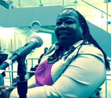 Seasoned blues writer and observer, Sandra Pointer-Jones