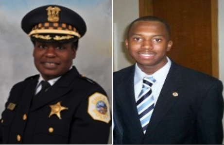 Honorary Marshals: 15th District Commander Barbara West and community advocate Claiborne Wade