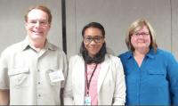 Dr. Barsky, Clariza Saint George and Betsy Kastak.