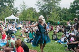 Lanise Antoine Shelly as Hippolyta. (Photos courtesy of Cata Truss)