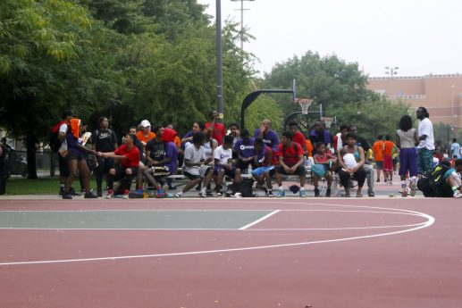 Hoop slillz: West Side teams, including from Austin, participated in the Aug. 23 tournament held on the North Side. (Courtesy Taryn Roche)