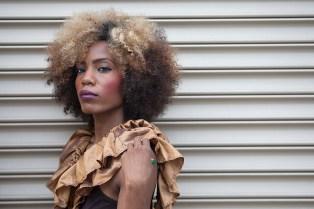 Model Tyesha Smith. (David Pierini/staff photographer)