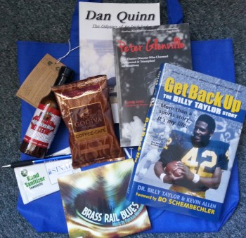 You could win this raffle prize package!
