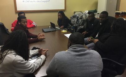 """I wanted to connect these young people so that they could just talk. Well, not only did they talk but they decided to call a meeting of young leaders under 30 from the West Side."" --Malcolm Crawford, Austin activist and entrepreneur"