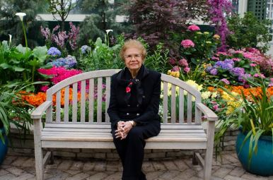 Gwendolyn Rogers, 83, a longtime Garfield Park Conservatory board member says she was devastated by the 2011 storm that forced the institution to close much of its green space. Now that that space is reopening, the possibilities are more open than ever, board members say. (Tanya Harris/Contributor)