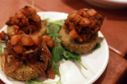Native Foods Butternut Polenta Bites, photo by Ashley Lisenby