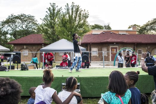 Rapper David Barnett, also known as Lil Prada, performs during an event in Austin on Tue. August 4. | Alex Wroblewski/Contributor.