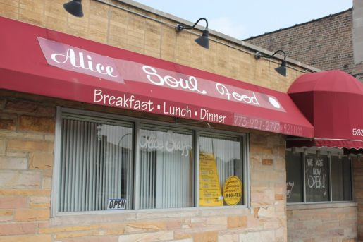 The current location of Alice's Restaurant, 5638 W. Chicago Ave., will close September 1. The restaurant will reopen at 5658 W. Madison in October. | Wendell Hutson/Contributor.