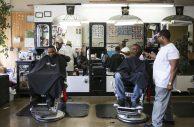 Herb's Barber Shop, 5118 W Chicago Ave., on Friday, April 10. File 2015