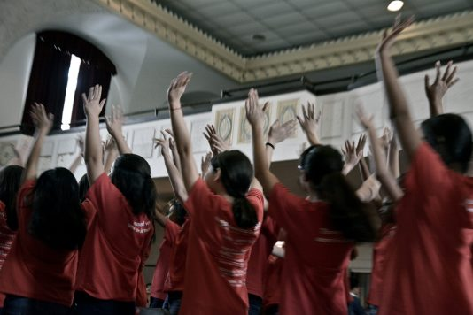 Nearly 100 people converged on Austin Town Hall, 5610 W. Lake St., on Jan. 23 for to welcome the Chicago Children's Choir (CCC) into Austin. The prestigious choir announced late last year that it would form its 10th neighborhood choir in Austin. | Sebastian Hidalgo/Contributor