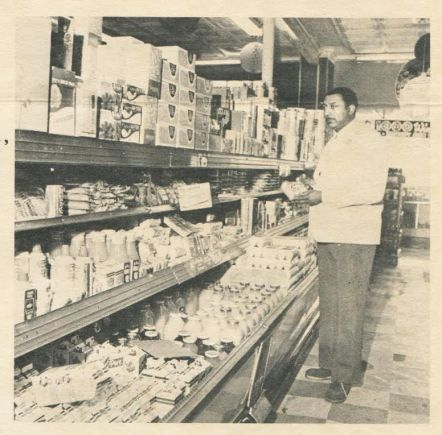 """Charles """"Chuck"""" McGee, pictured in his West Side grocery store. 