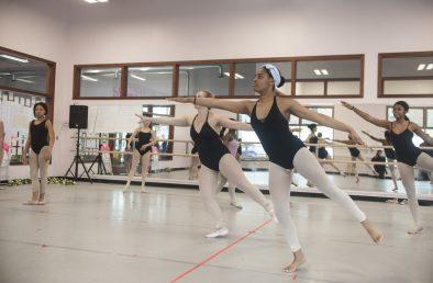 Maywood Fine Arts dancers rehearsing th the third act of 'Sleeping Beauty.' | William Camargo/Staff