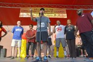 RUNNING FOR LIFE: Community members (including Chicago Mayor Rahm Emanuel) ran and walked during the annual Austin P.O.W.E.R. of Life 5k Walk/Run on Saturday, Sept. 23, 2017, in Austin. | ALEXA ROGALS/Staff Photographer