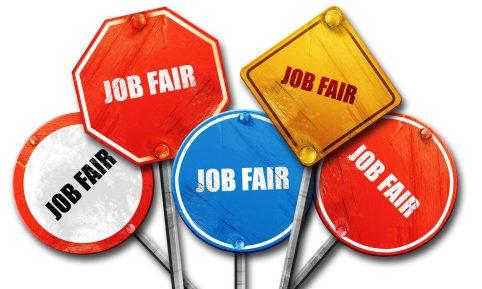 Attend a job fair