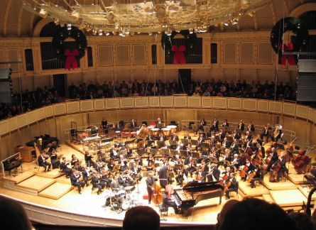 Catch the Chicago Symphony Orchestra musicians in action
