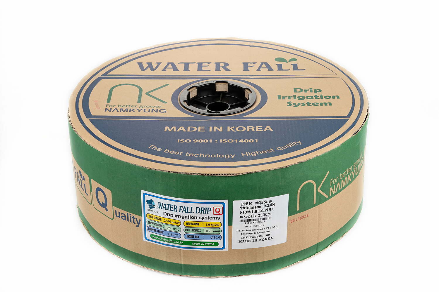 Drip Tape Water Fall-Q | 2.5 L/Hr 25cm