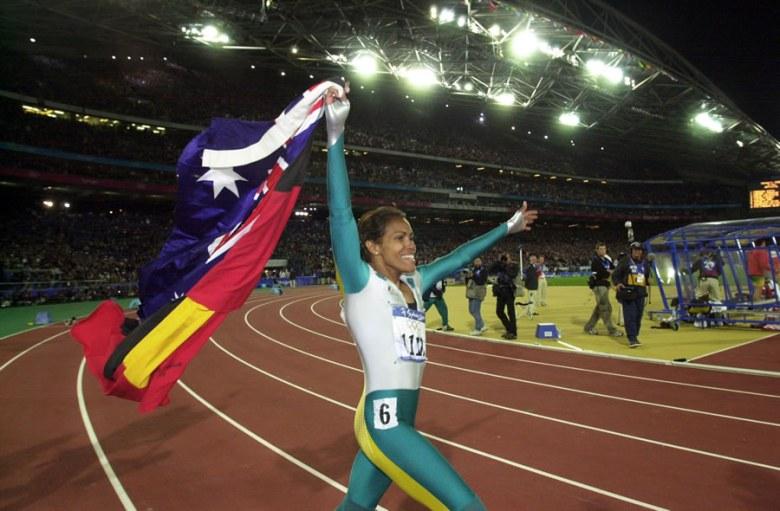 Cathy Freeman, une victoire au nom des aborigènes