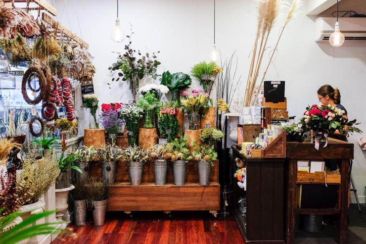 Flowers At Beans &Amp; Bunches In Northbridge, Perth © Suanlee