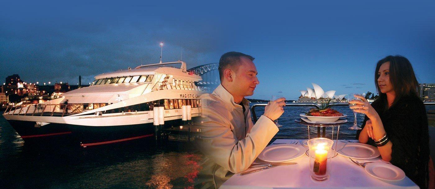 ValentineS Dinner Cruise On Sydney Harbour Family