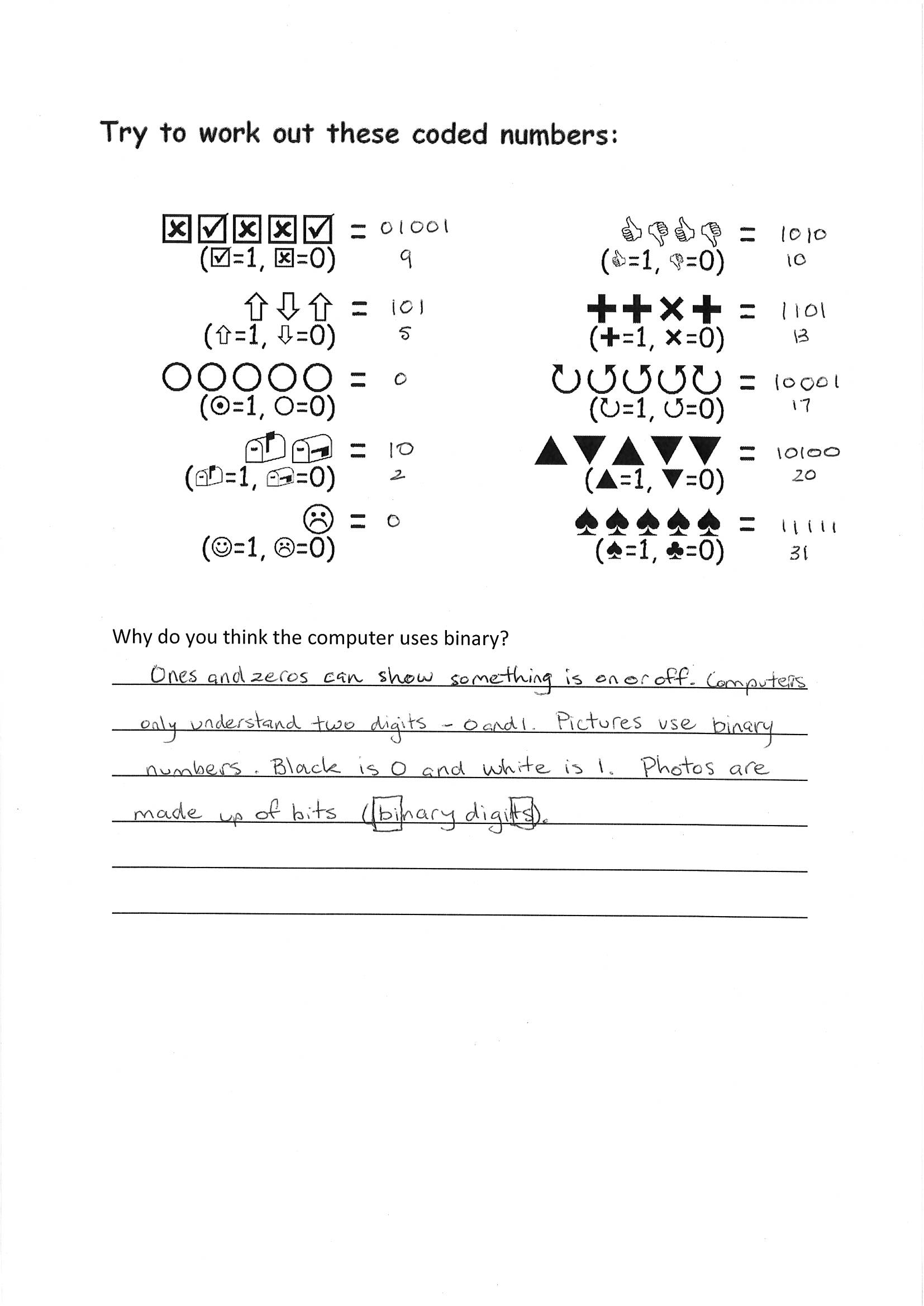 Worksheet Whole Numbers