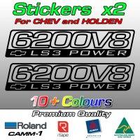 6200V8 Chev LS3 power sticker
