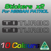 TI TURBO stickers for the TD42 Nissan patrol
