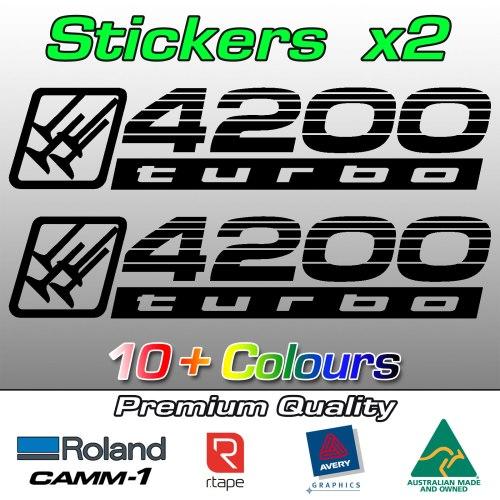 4200 turbo stickers