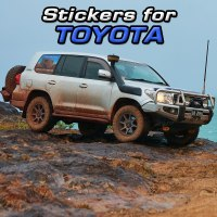 Stickers for Toyota