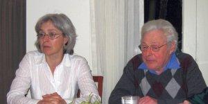 Анна Политковская и Михаил Ульман
