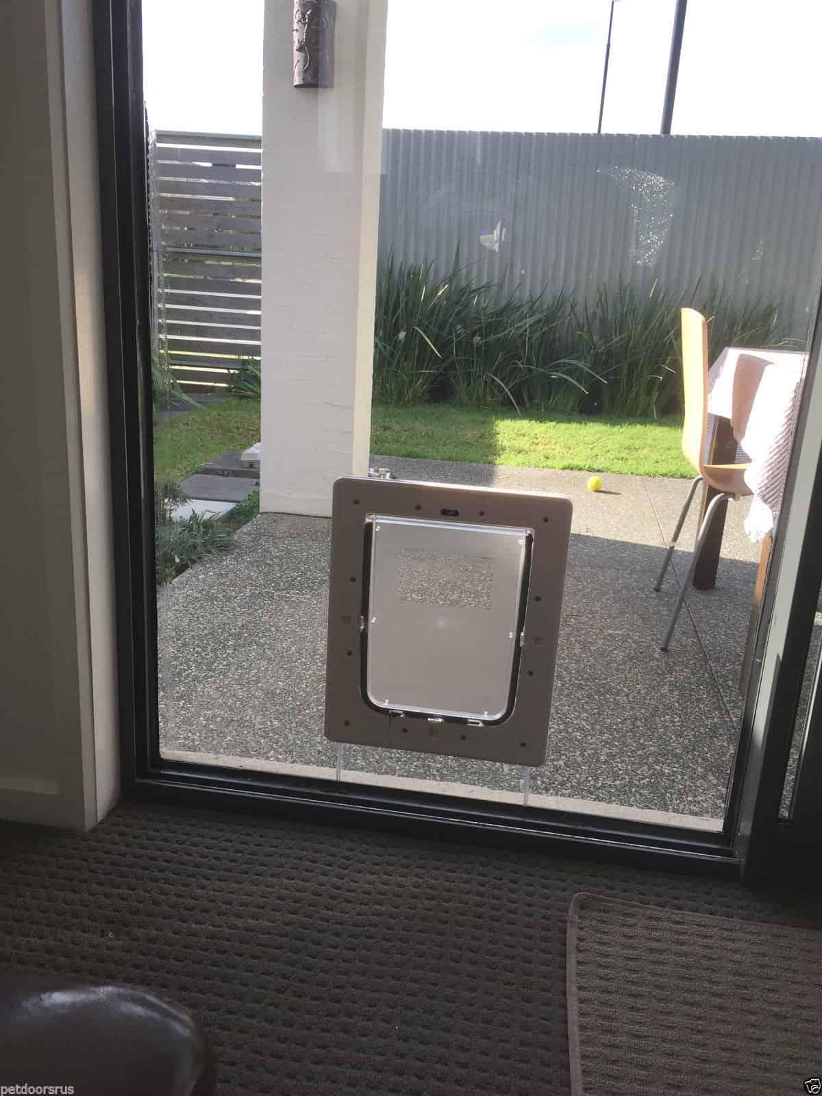 screen door with pet door aussie pet doors