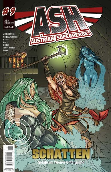 Austrian Superheroes Heft #9 Cover
