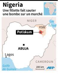 NIGERIA : BOKO HARAM  une petite fille explose  dans le nord-est du Nigeria