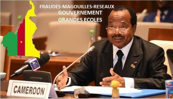 RECAPITULATIF DES FRAUDES GENERALISEES DU GOUVERNEMENT BIYA dans les grandes écoles du Cameroun