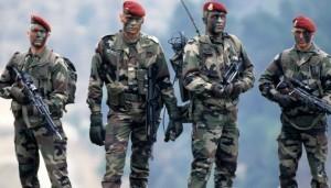 Des soldats français au front