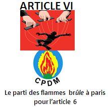 RDPC FRANCE / section nord : le combat d'un seul homme !