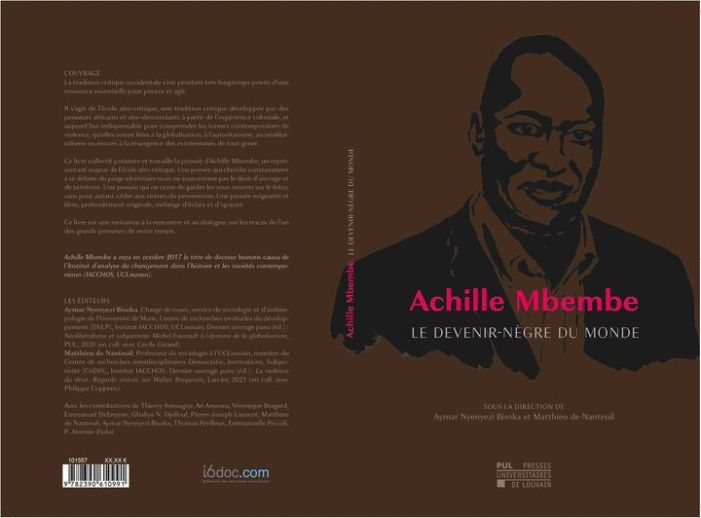 ACHILLE MBEMBE : NOUVELLES BREVES …