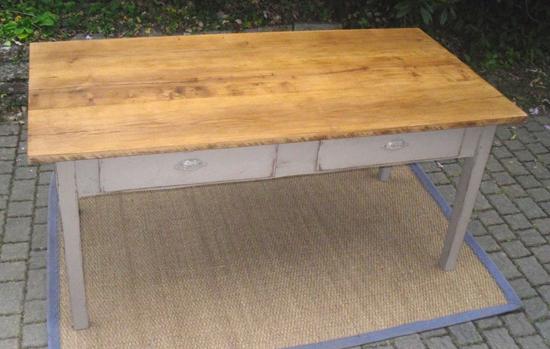 table cuisine ancienne bois