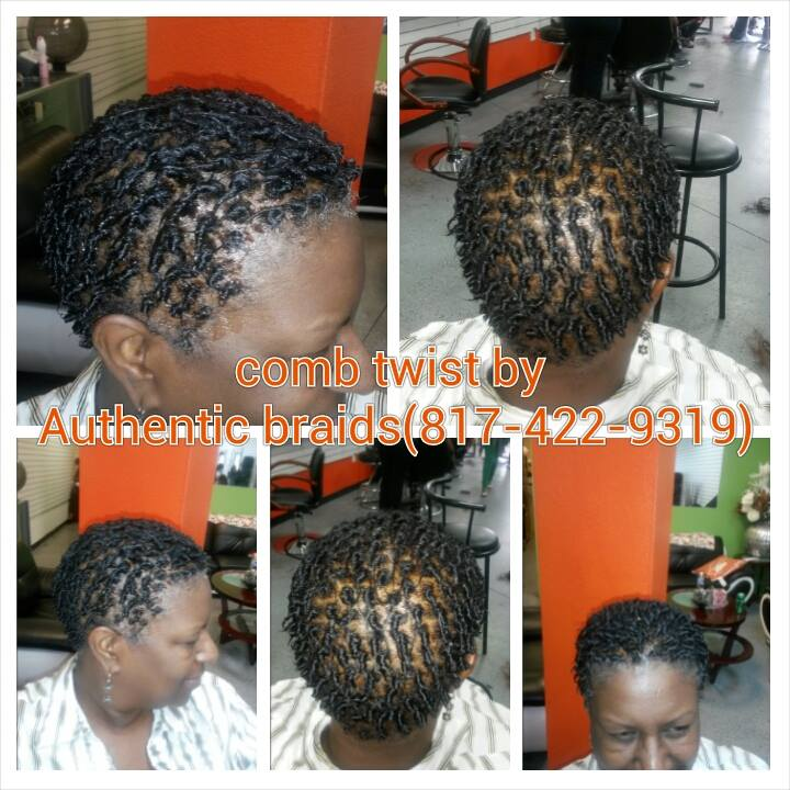 Comb Twists Authentic African Hair Braiding